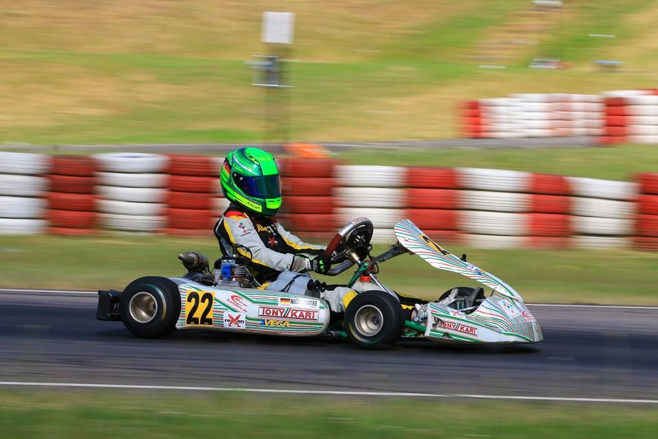 Nico Hantke sammelt wichtige Meisterschaftspunkte in Wackersdorf