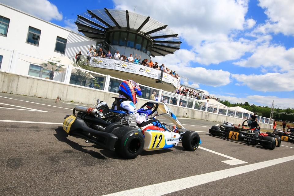 Rico Volz weiter bester Rookie im ADAC Kart Masters