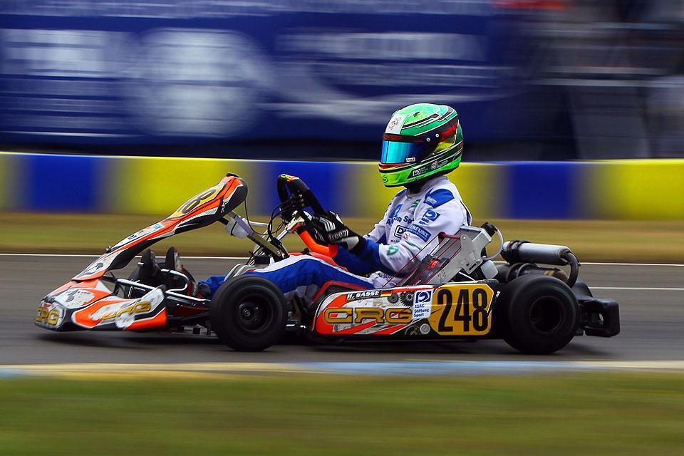 Hugo Sasse beweist tolle Moral in Le Mans