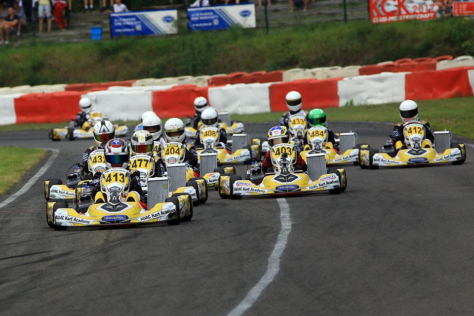ADAC Kart Academy startet zum zweiten Rennwochenende in Wackersdorf