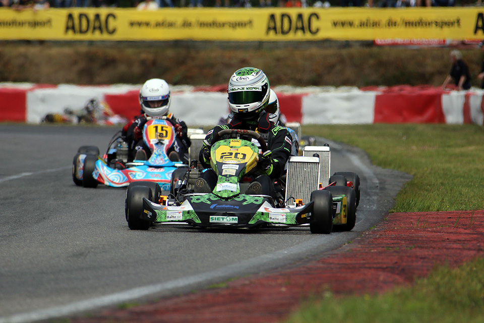 Magere drei Punkte beim ADAC Kart Masters für Niklas Koch