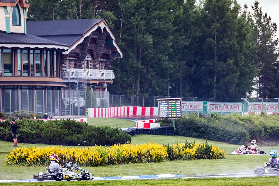 Niklas Krütten Vierter bei der Europameisterschaft in Finnland