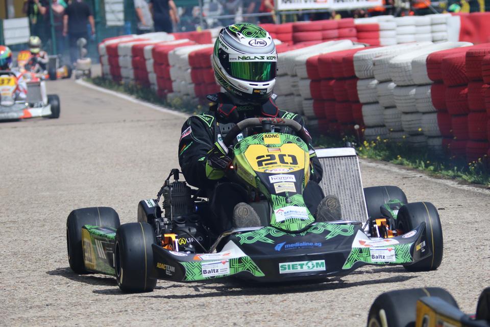 Zweiter Tagessieg in dieser Saison für Niklas Koch beim WAKC in Harsewinkel
