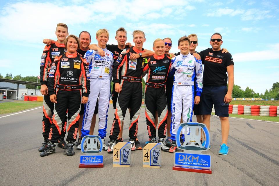 CRG TB Racing Team feiert Rennsieg in Wackersdorf