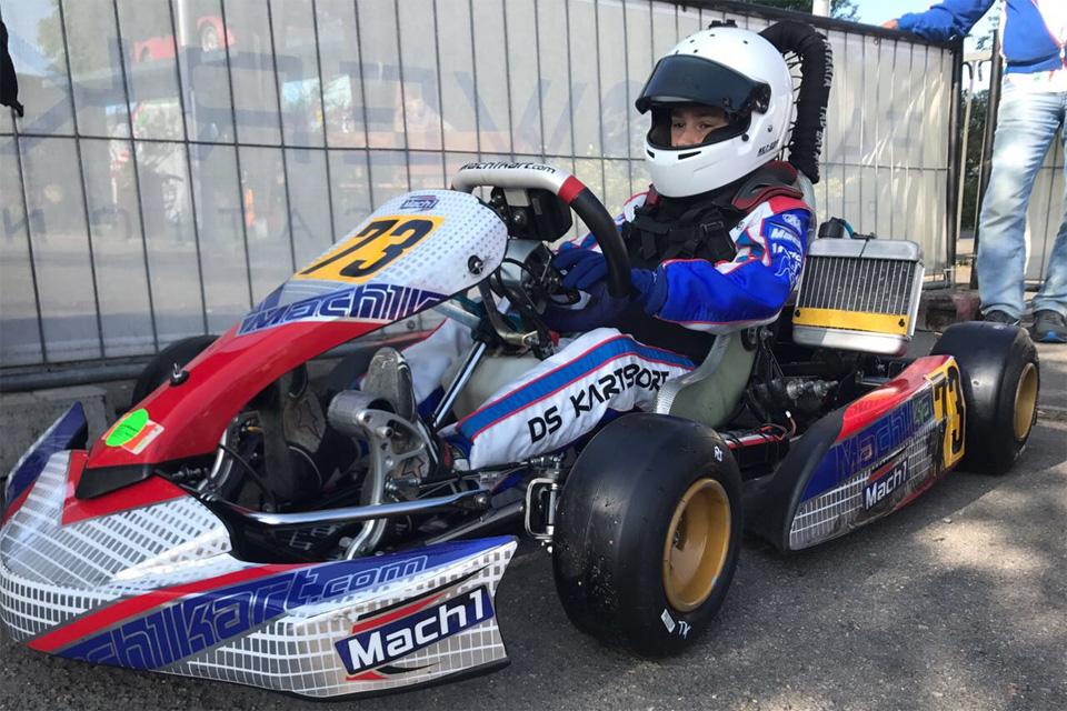 DS Kartsport Pilot wird vorzeitig WAKC Meister