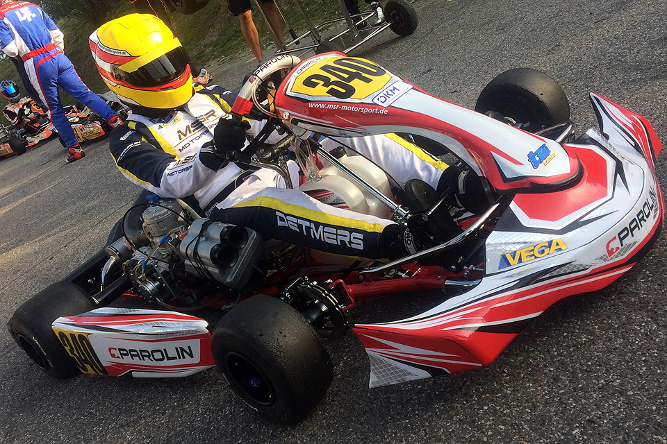 Gelungene Parolin Kart-Premiere für MSR Motorsport