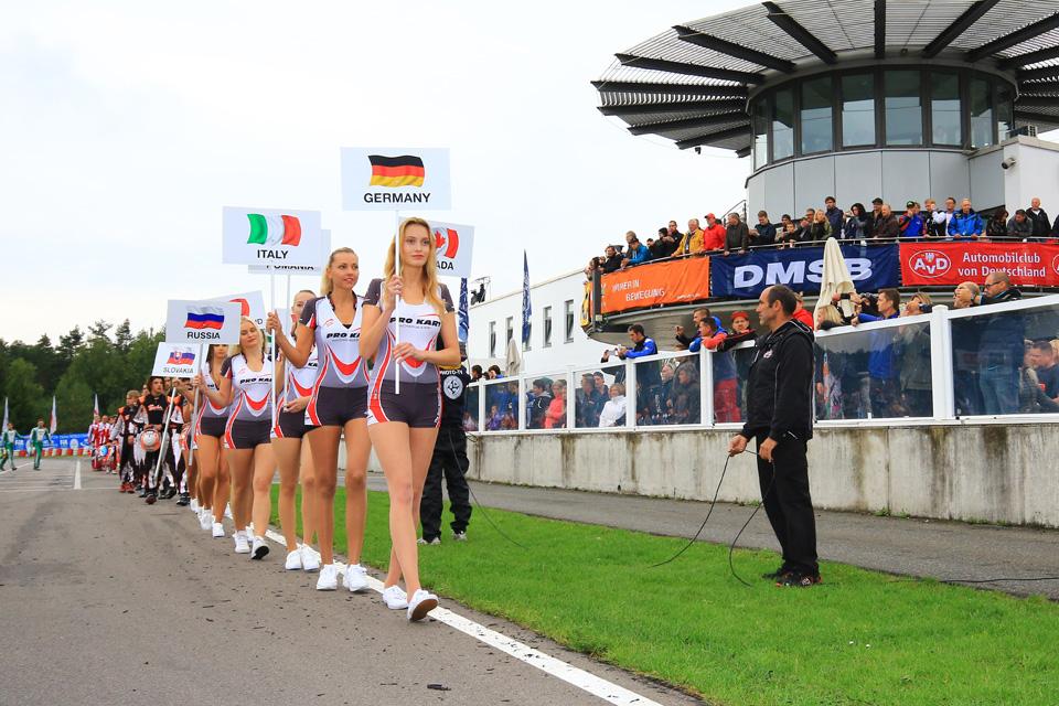 Sieben Deutsche im WM-Finale