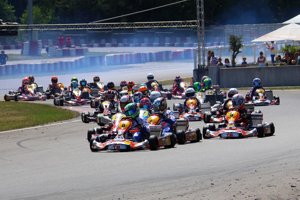 ADAC Kart Masters Finale in Wackersdorf