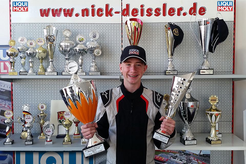 Nick Deissler: Dritter Meistertitel in zwei Jahren