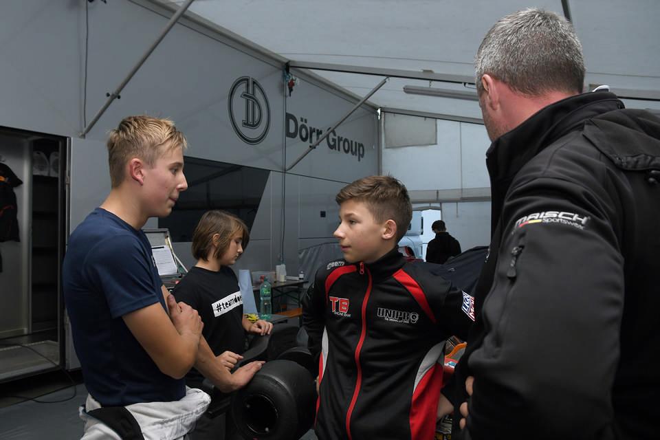 CRG TB Racing Team mit Quartett bei der Kart-Weltmeisterschaft