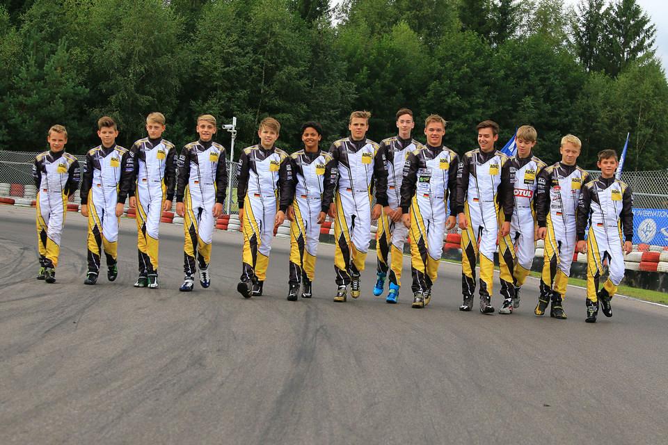 Showdown der ADAC Kart Academy in Wackersdorf