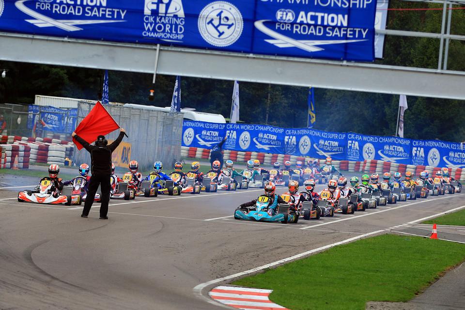 Starkes Finale der Kart-Weltmeisterschaft in Wackersdorf