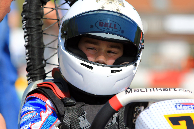 Tom Kalender hat ADAC Kart Cup-Titel im Blick