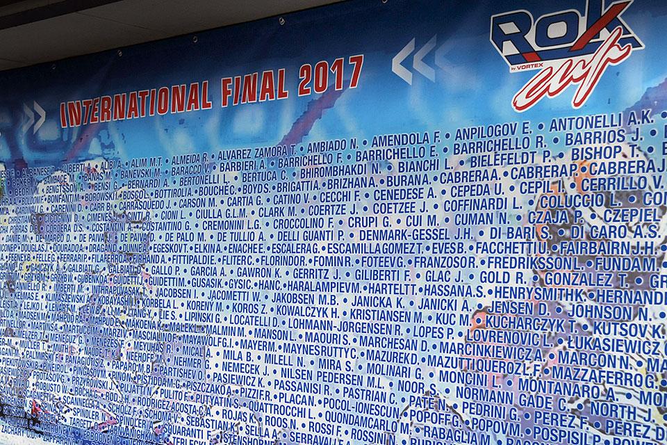 ROK Cup International Final: 434 Rokker am Start