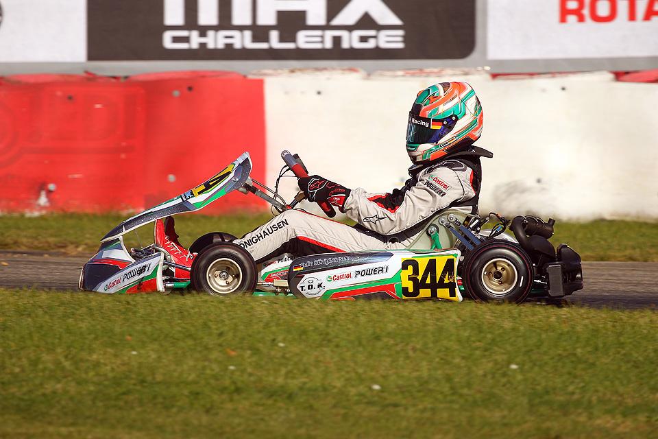 Vize-Rookiemeisterschaft für Colin Bönighausen