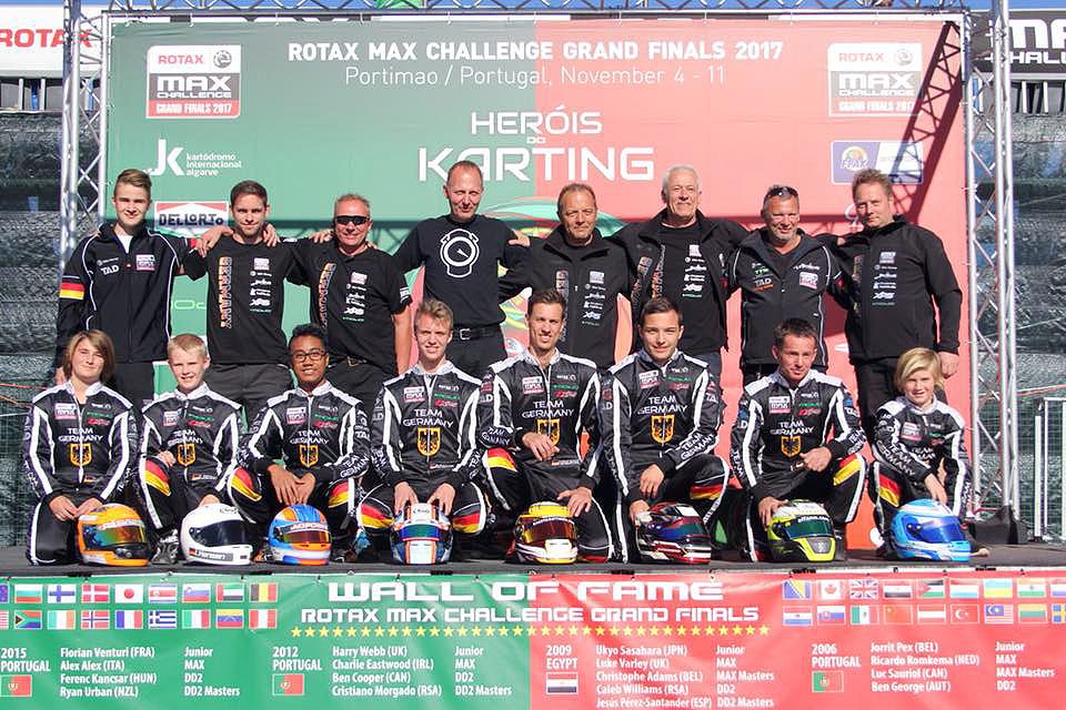 Sieben Deutsche im Finale der ROTAX MAX Grand Finals