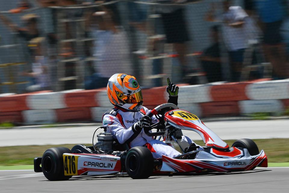 Parolin Deutschland/MSR-Motorsport in der IAME Euro Series
