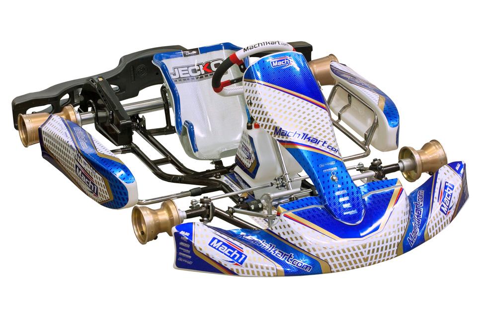 Mach1 Kart stellt neue Chassis vor