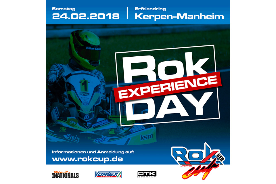 Rok Cup Experience Day am 24. Februar 2018 in Kerpen