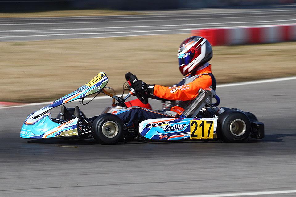 Valier Motorsport in den Top-Ten der OK-Elite
