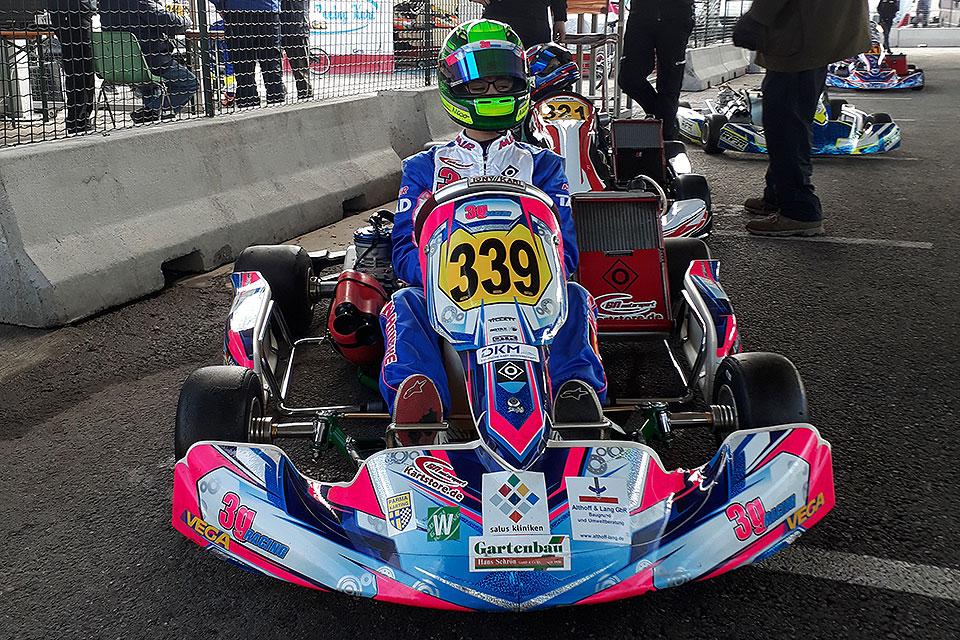 Nico Hantke glänzt bei Margutti-Trophy in Lonato