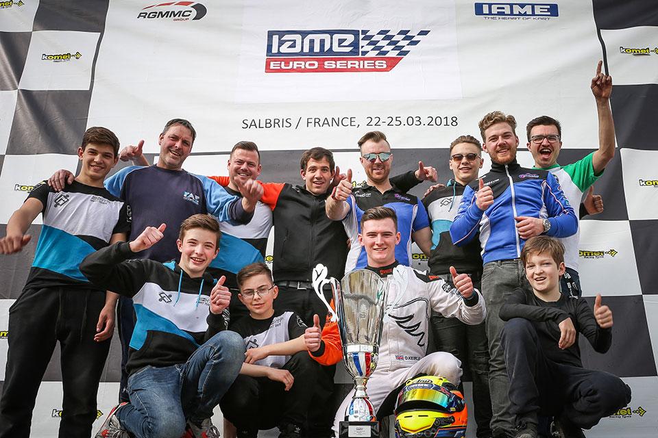 Deutsches Team fährt bei X30 Euro Series aufs Podium