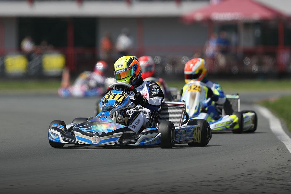 HTP Kart Team bleibt weiter im Titelrennen