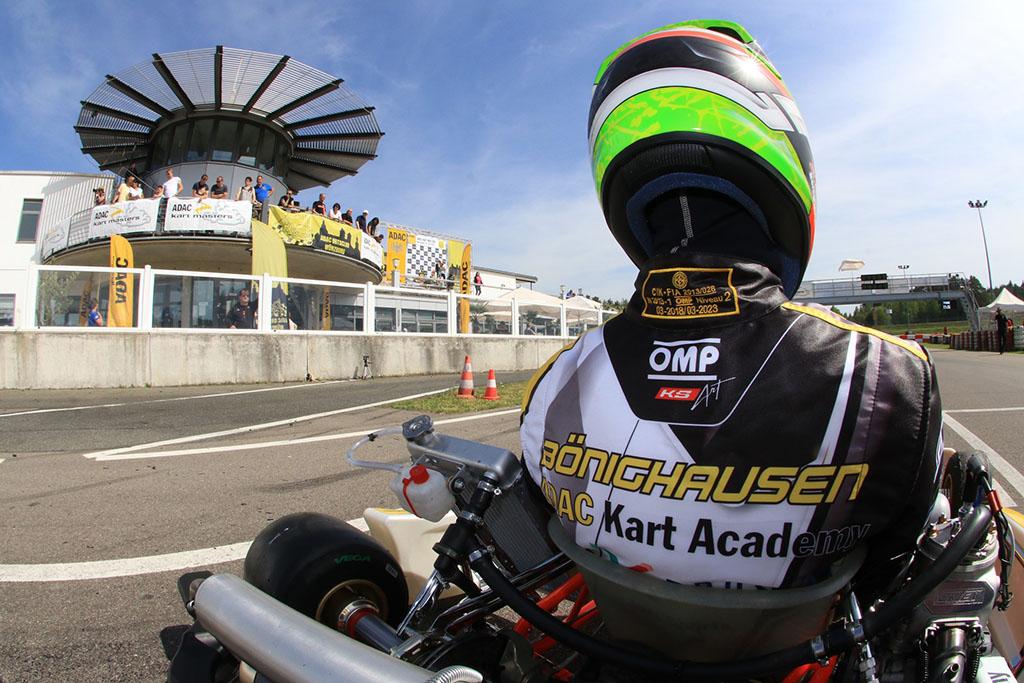 Bönighausen verteidigt Platz 2 bei der ADAC Kart Academy