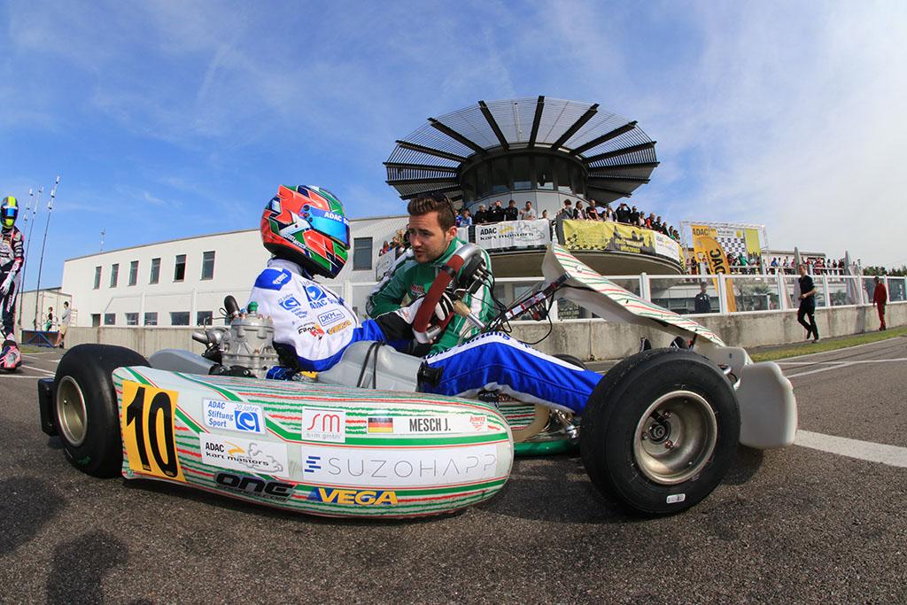 Joel Mesch übernimmt die Gesamtführung beim ADAC Kart Masters