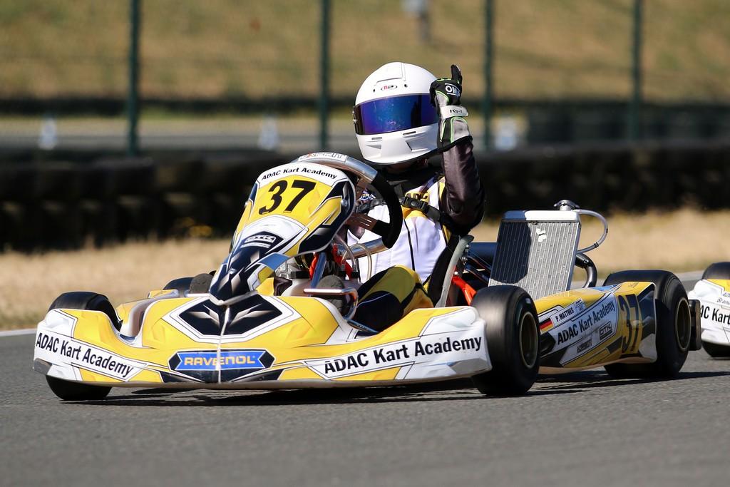 ADAC Kart Academy: Erster Tagessieg für Piet Matthes