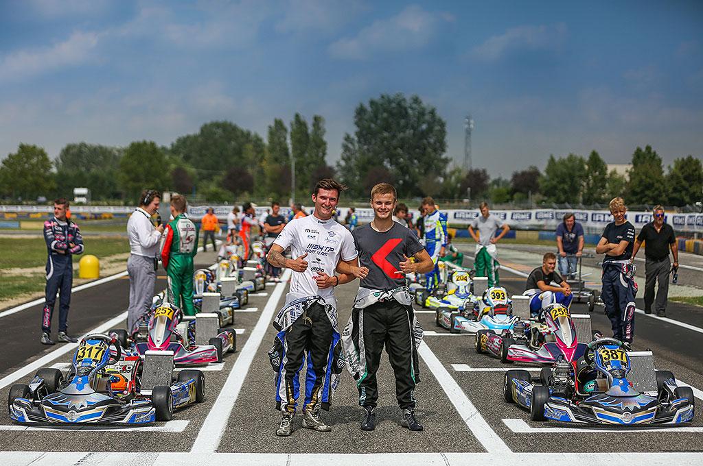 Laufsieg für HTP Kart Team in Castelletto