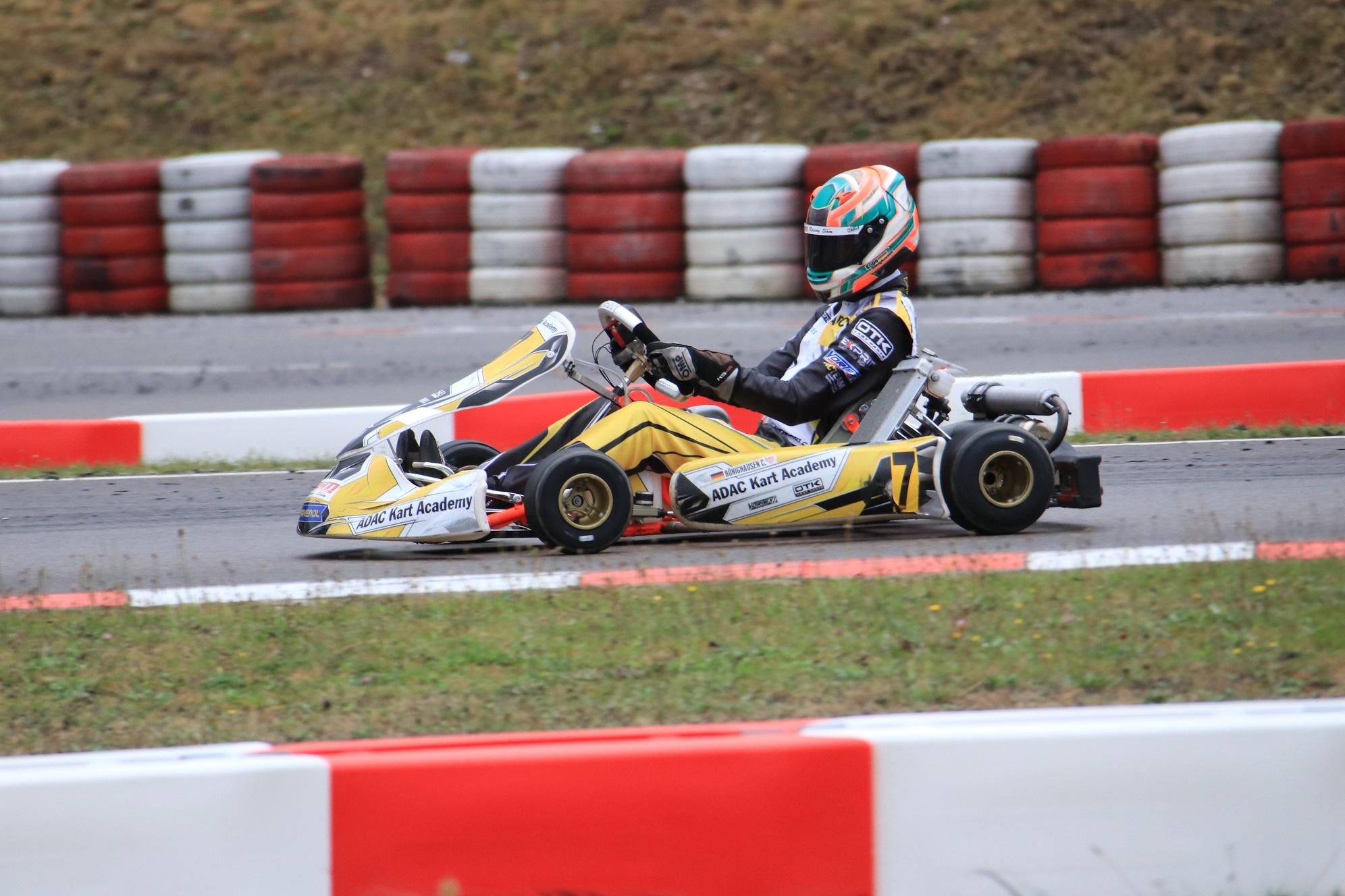 Bönighausen springt auf Platz 3 bei der ADAC Kart Academy