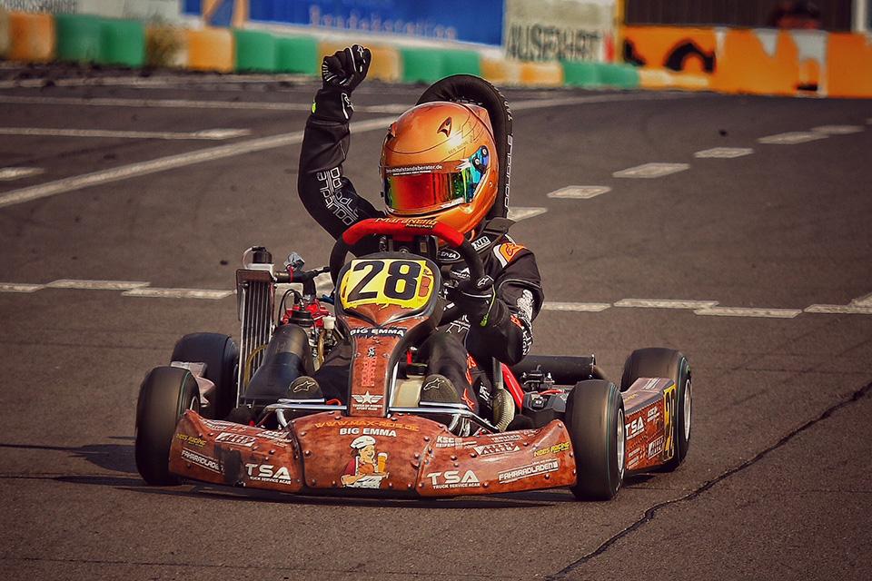 Max Reis neuer ACV Kart Nationals Meister 2018