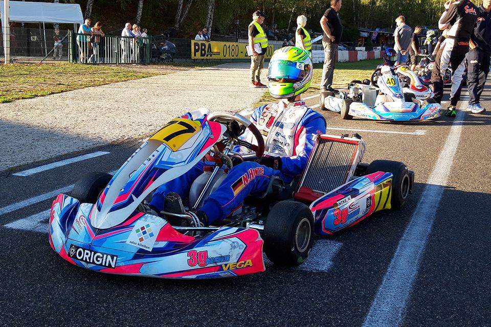 Sieg beim Senioren-Debüt für Nico Hantke