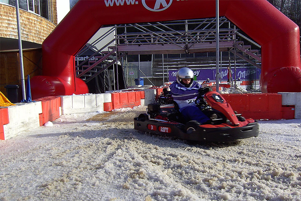 Charity Ice Karting für den guten Zweck