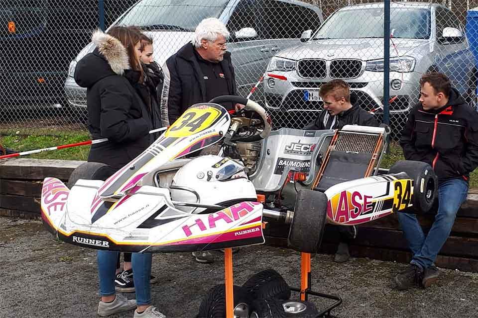 Felix Arndt holt mit HAASE Kart Doppelsieg Winterpokal in Kerpen