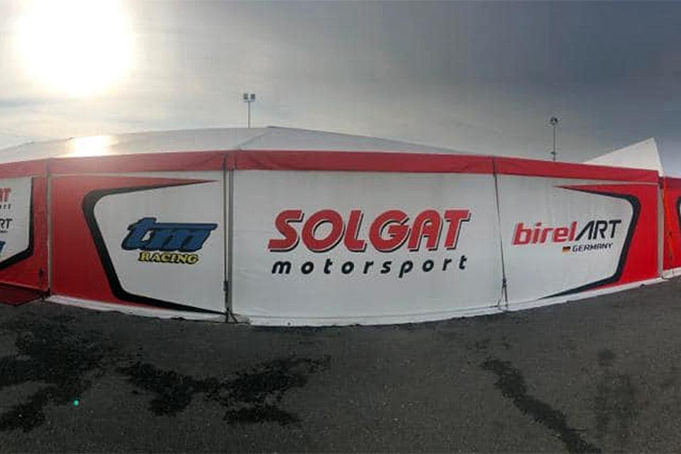 Solgat Motorsport: Top-Ten-Resultat bei Tropheo Andrea Margutti