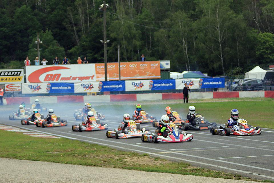 Saisonauftakt der ACV Kart Nationals und des Rok Cup Germany