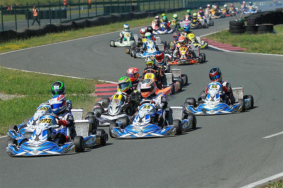 ADAC Kart Cup: Teilnehmerrekord sorgt für Spannung in Oschersleben