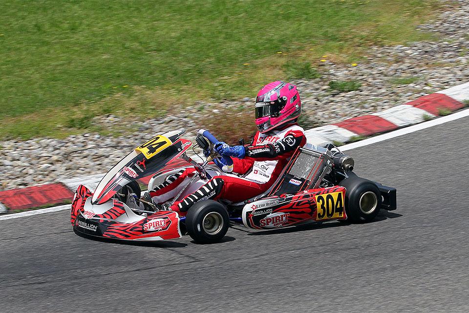 Mirecourt: 4. Lauf zur autobau Schweizer Kart-Meisterschaft