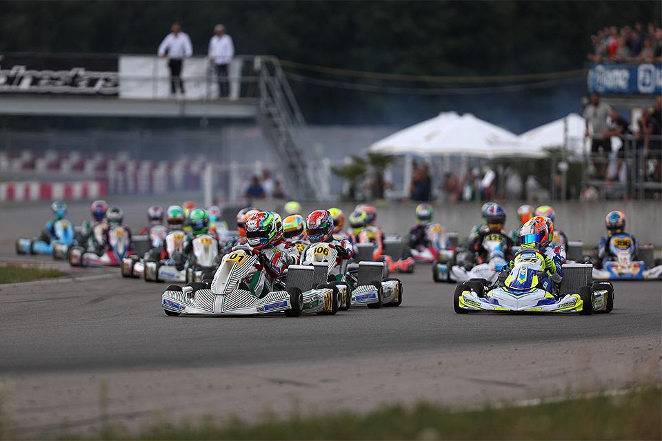 Saisonauftakt der IAME Euro Series in Mariembourg
