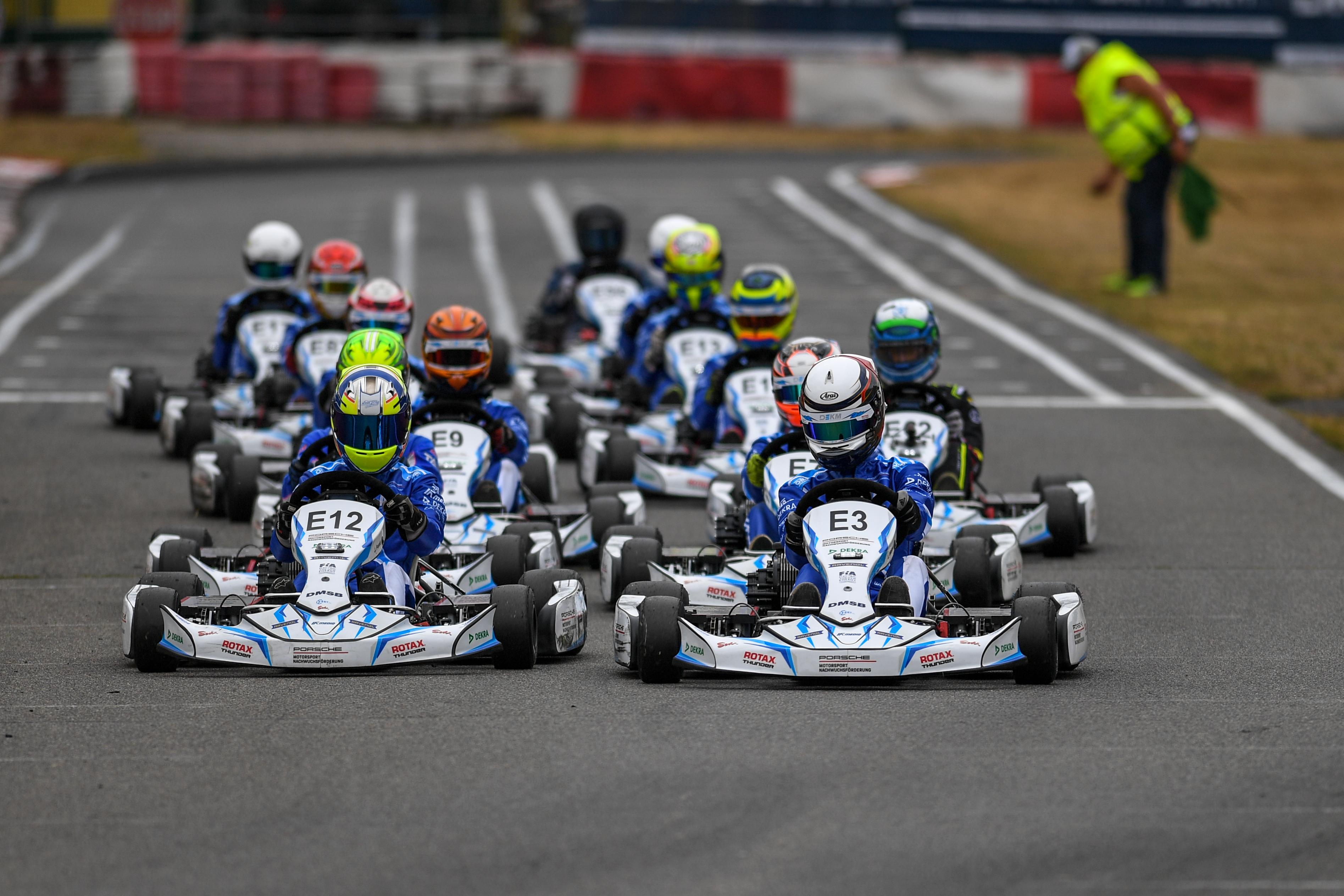 Halbzeit in der Deutschen Elektro-Kart-Meisterschaft