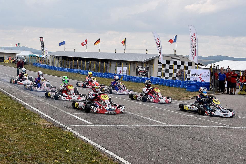 Vorschau Levier: 5. Lauf zur autobau Schweizer Kart-Meisterschaft