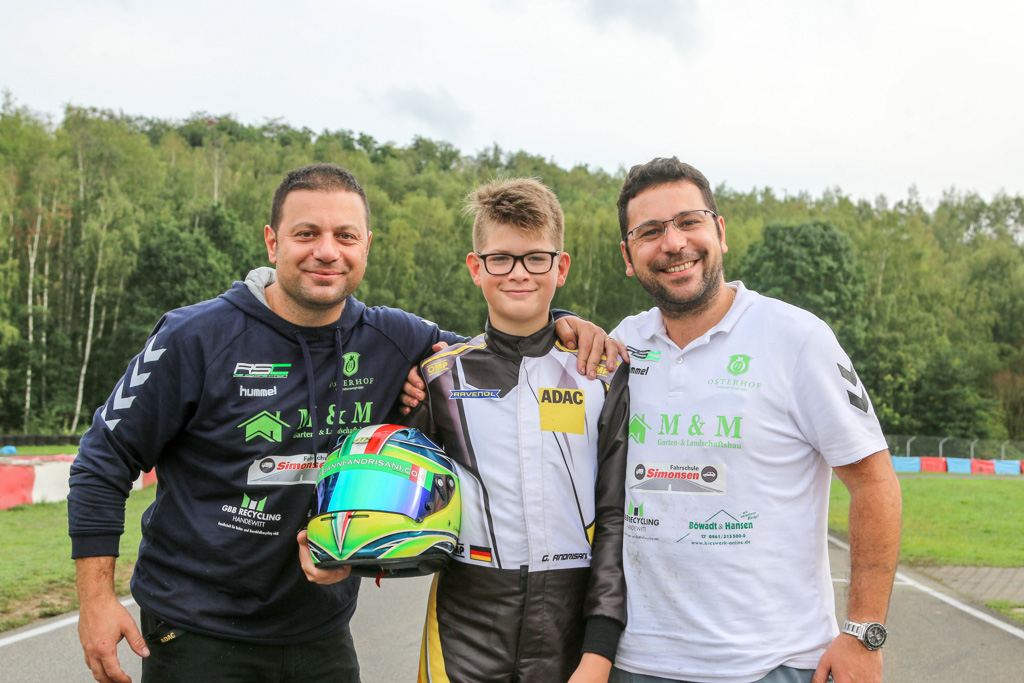 ADAC Kart Academy: Vorzeitiger Titel für Gianni Andrisani