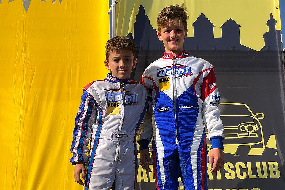 Niklas Hirsch sichert sich ADAC Kart Cup-Titel