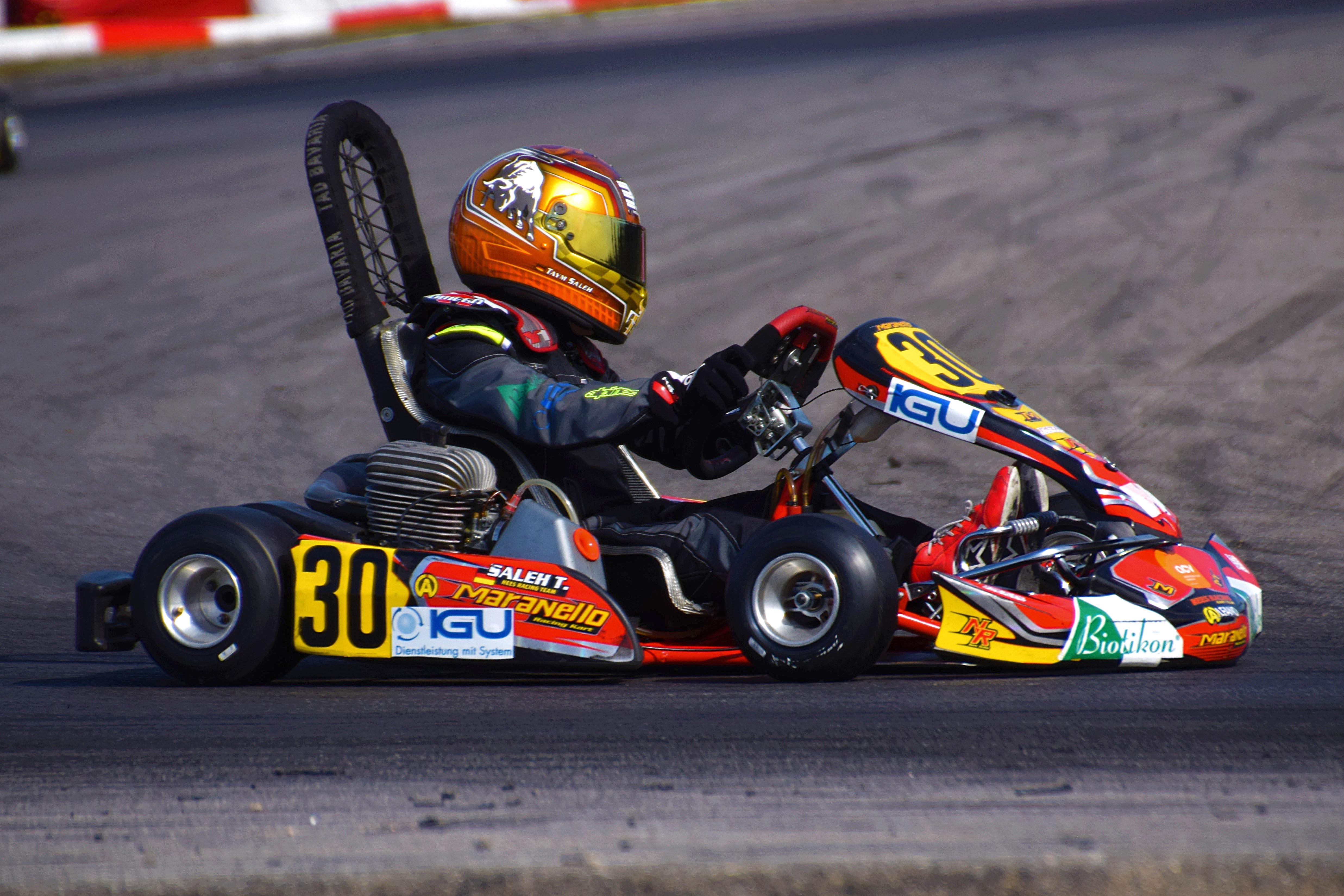 Taym Saleh neuer Champion des ACV Kart Nationals