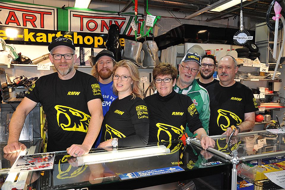 Kartmesse: Back to the roots RMW MOTORSPORT zieht um