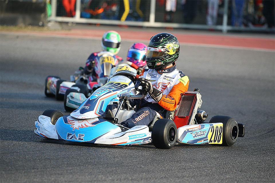 Lehrreicher Winter Cup für Valier Motorsport