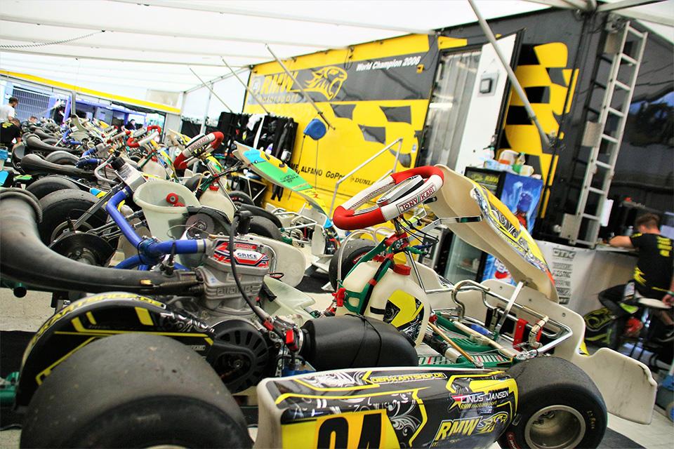 RMW Motorsport räumt beim Auftakt des WAKC ab