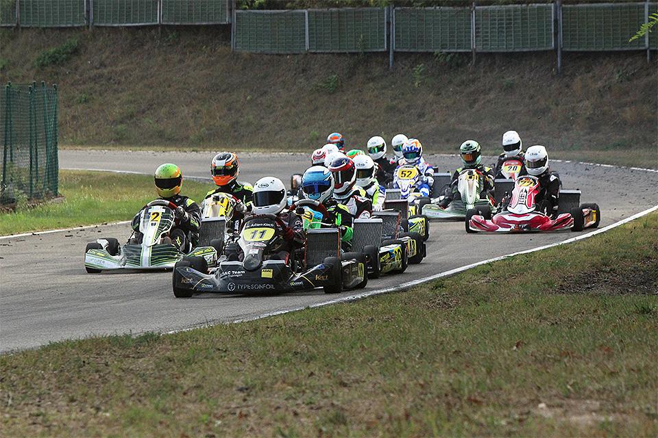 Julien Koch mit Doppelsieg beim WAKC in Liedolsheim